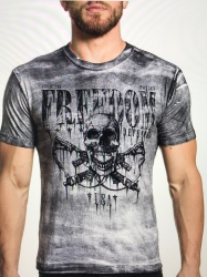 Affliction Nevermind Tee White