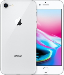 Apple Apple iPhone 8 256GB Silber -Apple Sonderposten Deal- refurbished
