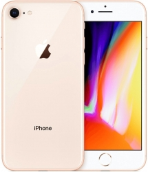 Apple Apple iPhone 8 256GB Gold -Apple Sonderposten Deal- refurbished